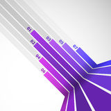 Abstract design element with violet lines Royalty Free Stock Photo