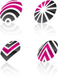 Abstract design elements. Royalty Free Stock Photo