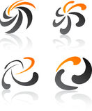 Abstract design elements. Royalty Free Stock Photos
