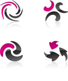 Abstract design elements. Stock Images