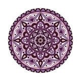 Abstract design elements. Round mandalas in vector. Graphic template for your design. Decorative retro ornament. Royalty Free Stock Photo