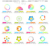 Abstract Design Elements - Set 1 Stock Image