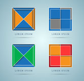 Abstract design elements Royalty Free Stock Image