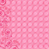 Abstract design floral background. royalty free stock photography