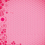 Abstract design floral background. Royalty Free Stock Image