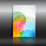Abstract design flyer Royalty Free Stock Photos