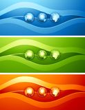 Abstract design with globe. Stock Photography