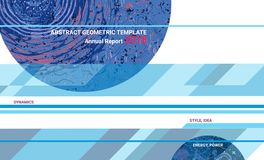Abstract design graphic template. Cover design annual report, brochure template layout, A4 with abstract expressive textures for business, finance. Creative Stock Photos