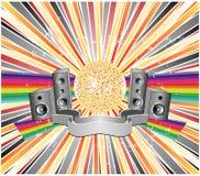 abstract design illustration party vector Στοκ εικόνες με δικαίωμα ελεύθερης χρήσης