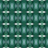 Abstract design with lines and geometric patterns on a surface with green and white threads, background and texture. Backdrop for colors related ads, geometric royalty free illustration