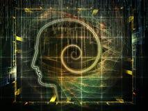 Toward Digital Consciousness Stock Image