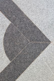 Abstract design on marble floor Stock Photography