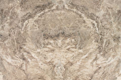 Abstract design on marble floor Royalty Free Stock Images