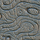 Abstract design in metal Royalty Free Stock Images