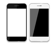 Abstract Design Mobile Phones . Vector Royalty Free Stock Photos