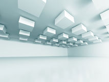 Abstract Design Modern Interior Background Stock Images