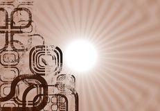 abstract design montage ελεύθερη απεικόνιση δικαιώματος