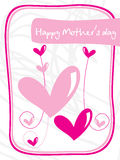 Abstract design mother day background Stock Image