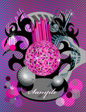 Abstract design party Stock Photos
