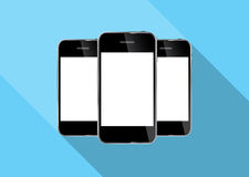 Abstract Design Realistic Mobile Phone Vector royalty free illustration