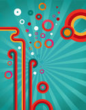 Abstract design retro background Royalty Free Stock Image
