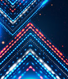 Abstract design with shiny arrows for Your busines Royalty Free Stock Image