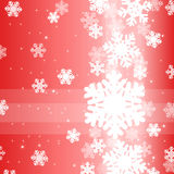 Abstract design with snowflakes and place for text. Abstract Christmas background for card, invitation and web design with snowflakes and place for text royalty free illustration