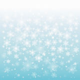 Abstract design with snowflakes. Abstract shiny Christmas background with snowflakes and place for text royalty free illustration