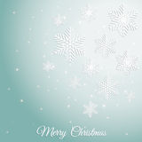 Abstract design with snowflakes Stock Photos