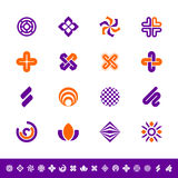 Abstract design symbols Stock Image