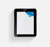 Abstract Design Tablet. Vector Illustration. Stock Image