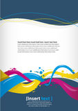Abstract Design Template Stock Photos