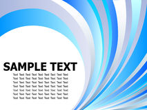 Abstract design template Stock Photography