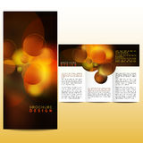 Abstract template. Abstract design template layout brochure Stock Images