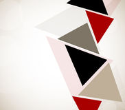Abstract design with triangles Royalty Free Stock Photography
