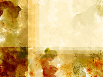 Abstract design of watercolor painting Royalty Free Stock Photography