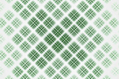 Abstract design white and green gradient grid Stock Photography