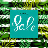 Abstract Designs Final Sale Banner Template with Frame. Vector I. Llustration EPS10 Stock Photos