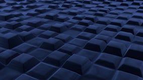 Infinite velvet cubes. Abstract designs of Infinite velvet cubess Stock Image