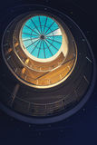 Abstract detail of architectural interior Royalty Free Stock Photography