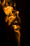 Abstract detail flame Royalty Free Stock Images
