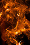 Abstract detail flame Royalty Free Stock Photography