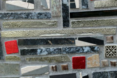 Abstract detail glass ceramic mosaics Royalty Free Stock Photos