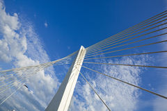 Abstract Detail of Millennium Bridge in Podgorica Royalty Free Stock Photo