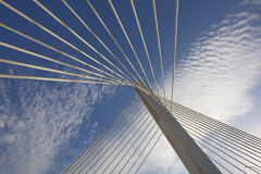 Abstract Detail of Millennium Bridge in Podgorica Stock Photos