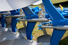 Abstract Detail of New Blue Agricultural Stock Photo