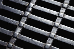 Abstract detail sewer grates Stock Photo