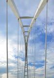 Abstract detail van brug Stock Afbeeldingen
