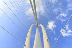 Abstract detail van brug Royalty-vrije Stock Afbeeldingen