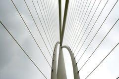 Abstract detail van brug, Moderne architectuur Royalty-vrije Stock Afbeeldingen